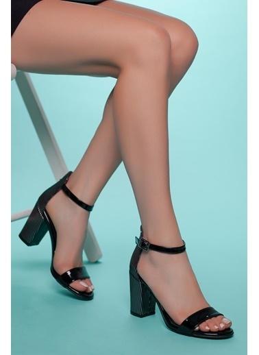 Muggo Topuklu Ayakkabı Siyah